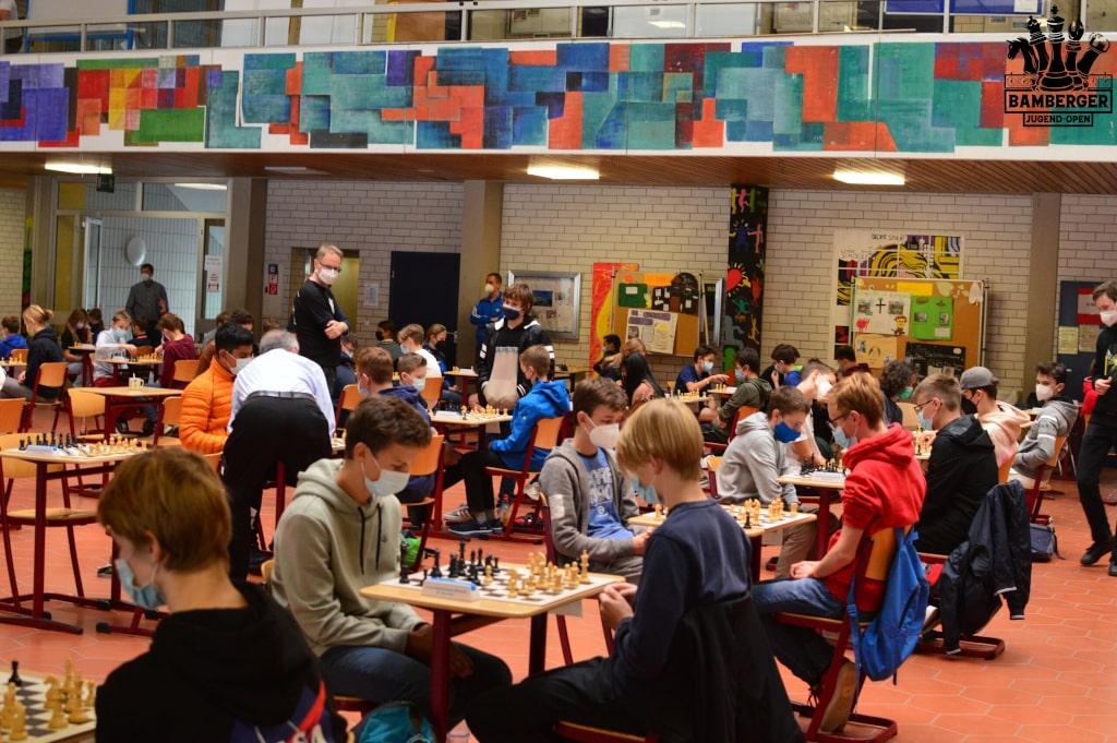 Bamberger JugendOpen 2021 - Blick in den Saal 1