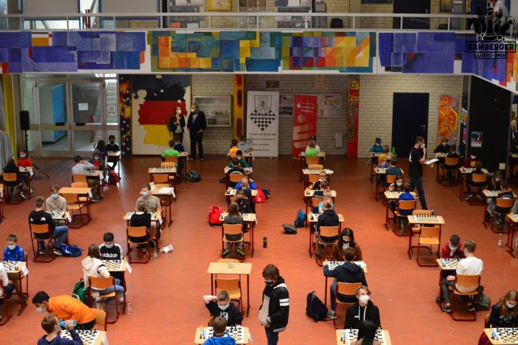 Bamberger JugendOpen 2021 - Blick in den Saal 2