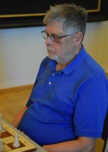 Reinhard Bucka am Brett