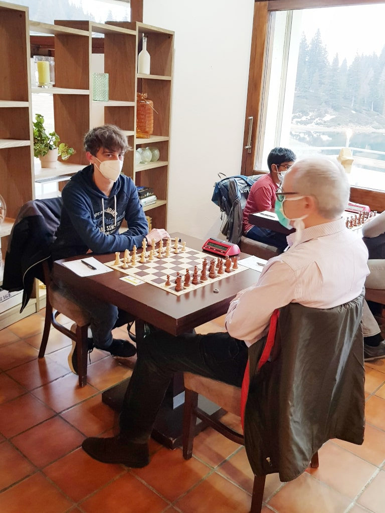 Tobias beim Moesa Chess Festival